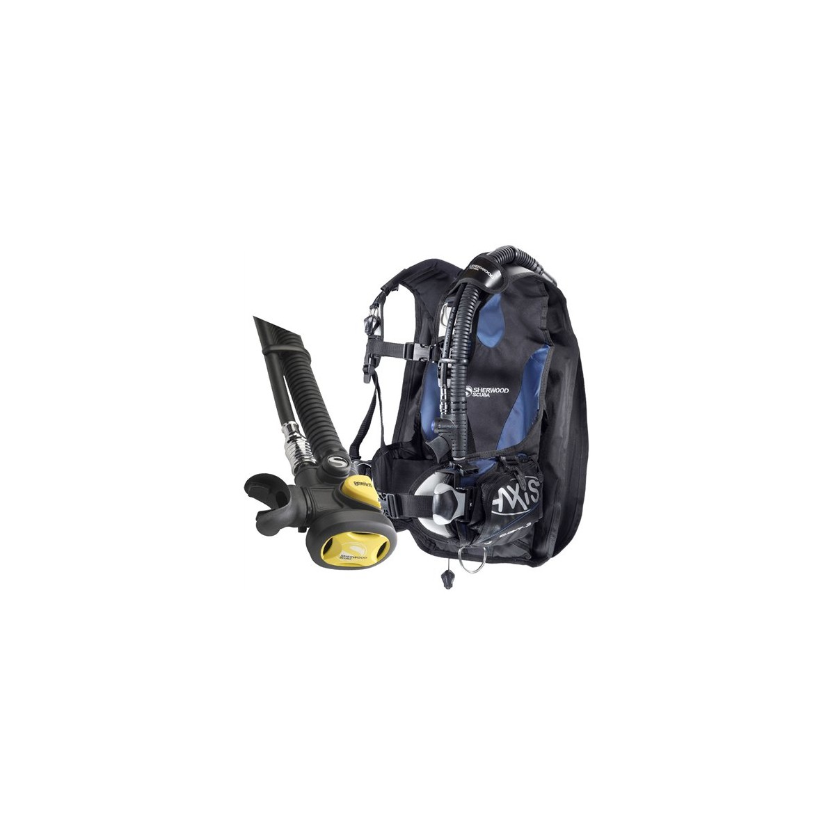 Sherwood AXIS BCD With Gemini inflator