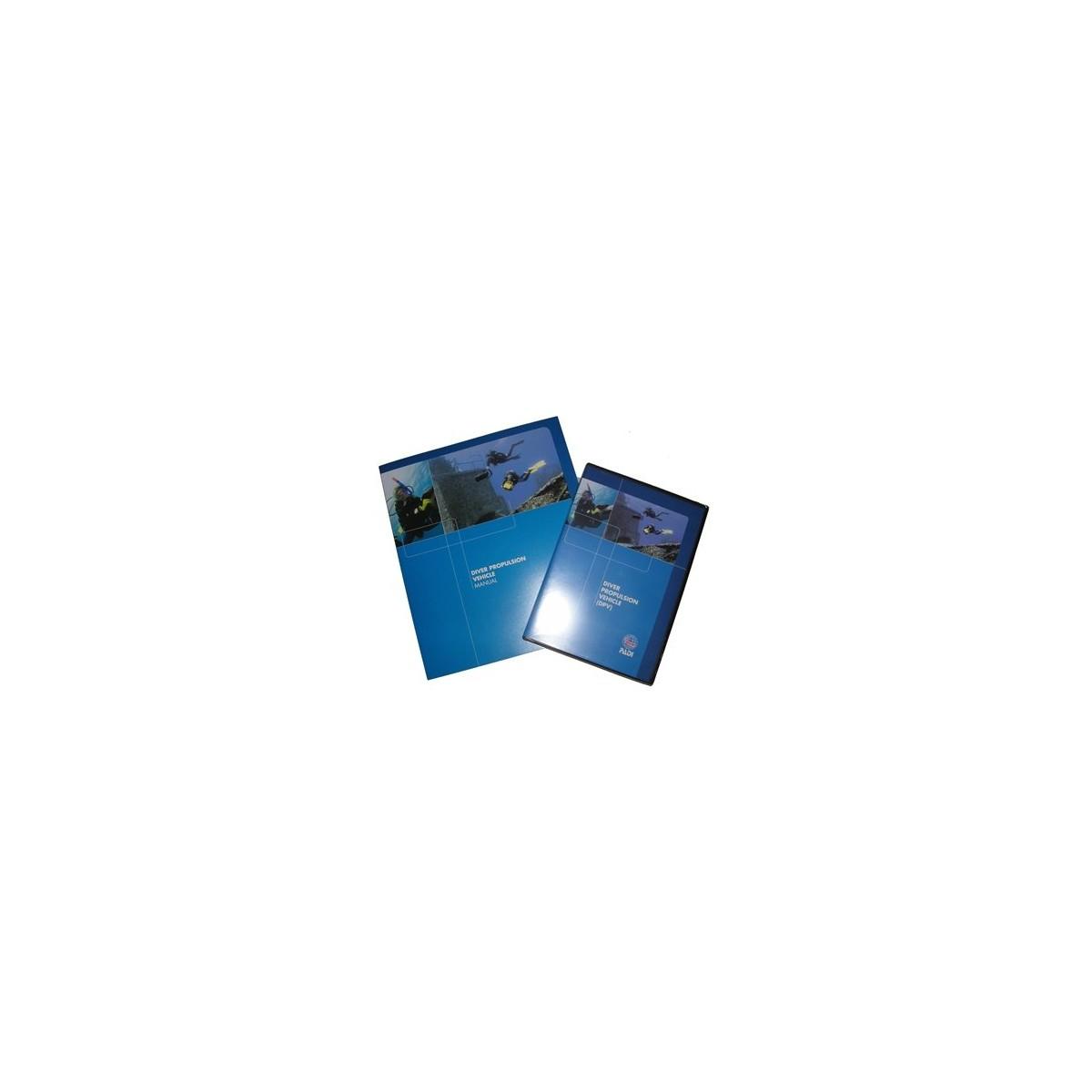 PADI Diver Propulsion Vehicle (DPV) Crew-Pak Training Materials For Scuba