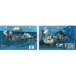 Kormoran in the Red Sea, Egypt (8.5 x 5.5 Inches) (21.6 x 15cm) - New Art to Media Underwater Waterproof 3D Dive Site Map