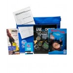 PADI E-Learning Open Water Crew Pack With Computer Book & Log Book Learn SCUBA Dive Diving Education