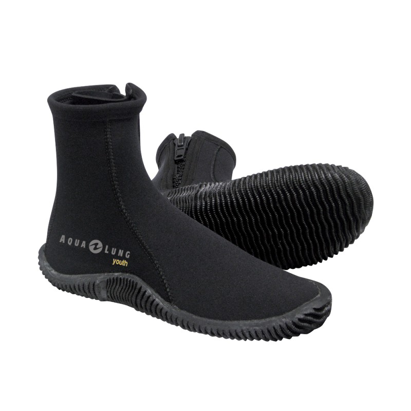 Aqua Lung 5mm Echozip Youth Boot