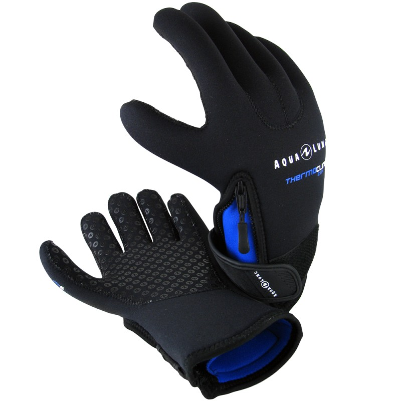 Aqua Lung Men's 5mm Thermocline Zip Glove