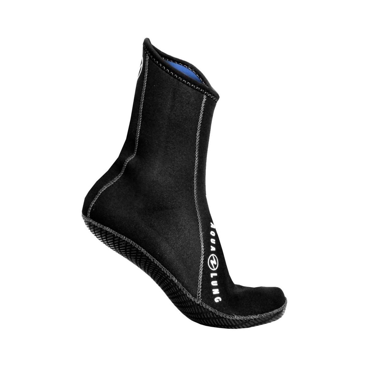 Aqua Lung Ergo Neoprene Sock: High Top with Grip