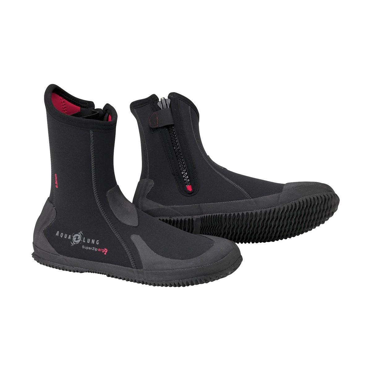 Aqua Lung Men's 6.5mm Superzip Ergo Boot