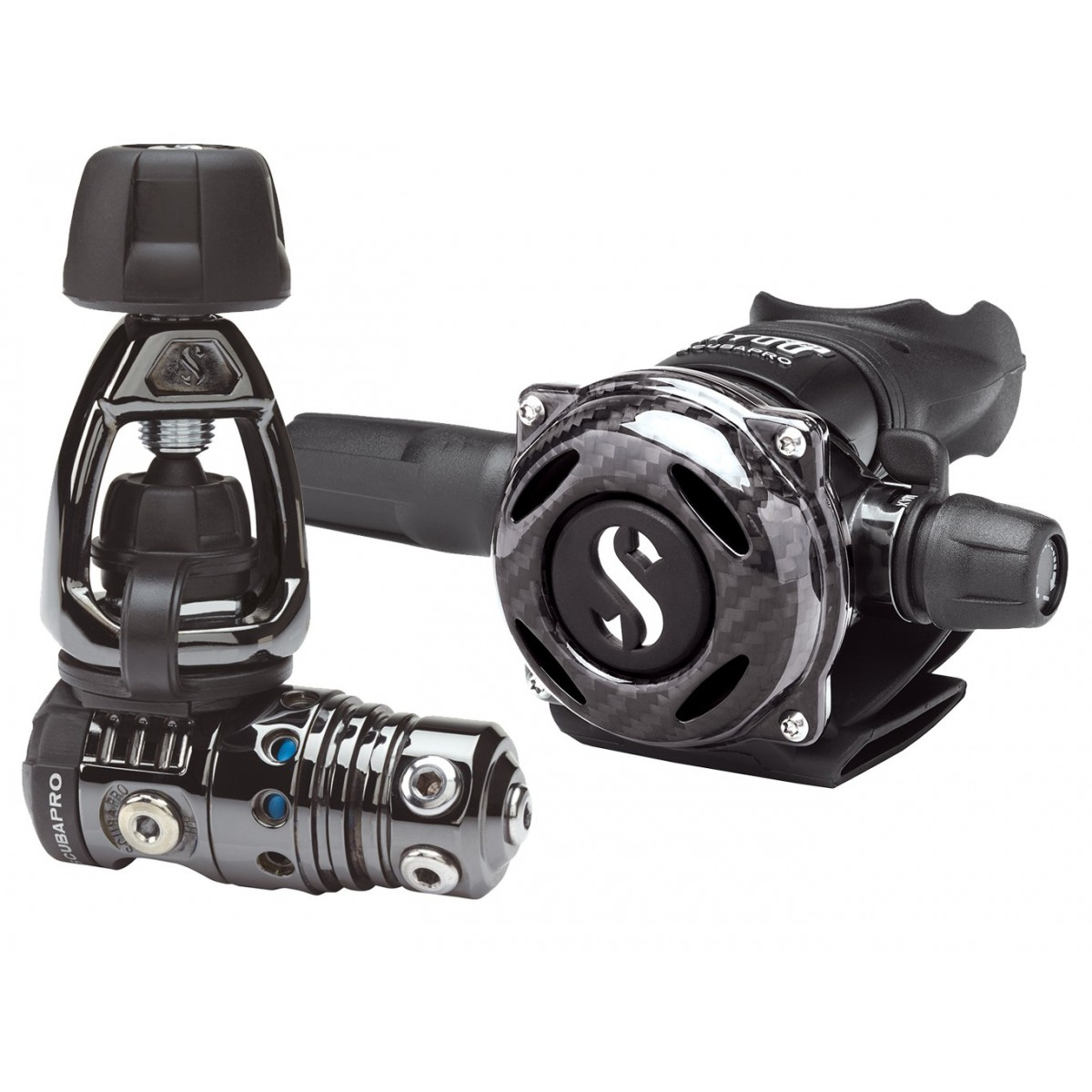 Scubapro MK25 EVO/A700 Carbon Black Tech Regulator - Yoke