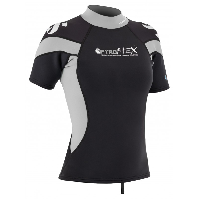 Scubapro Women's Pyroflex Short Sleeve Rash Guard