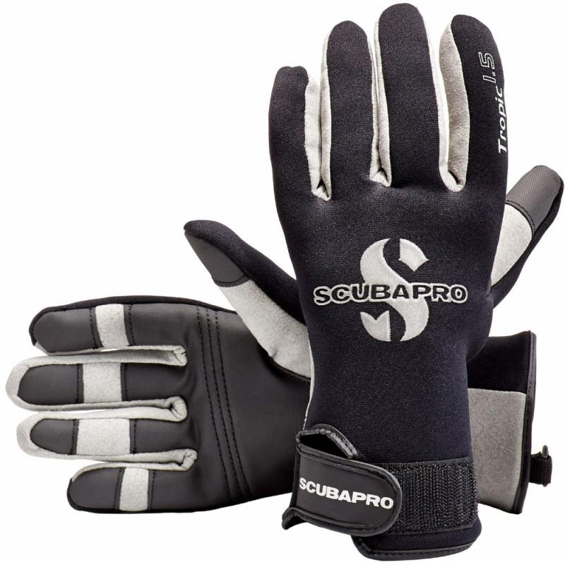 ScubaPro Tropic 1.5mm Scuba Diving Gloves