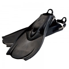"Hollis F1 ""BAT FIN"" Vented Blade Open Heel Diving Fin"