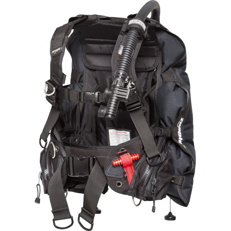 Zeagle Stiletto Rear Inflation BCD With The Ripcord Weight System, Black
