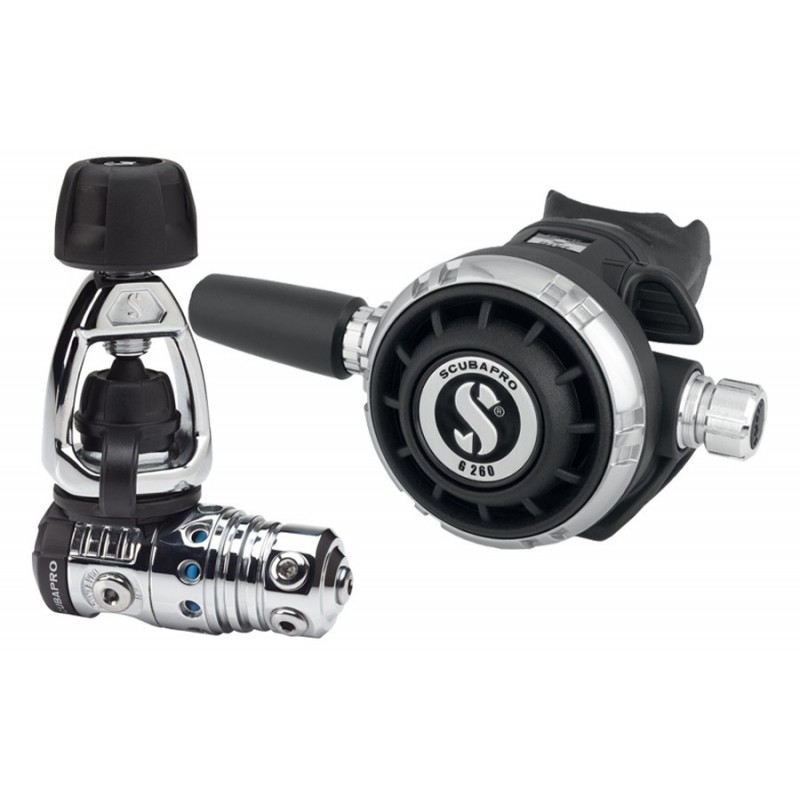 Scubapro MK25 EVO/G260 Black Tech Regulator - Yoke